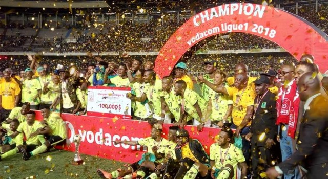 L'AS Vclub domine l'AS Dragon et devient champion de la Vodacom ligue 1